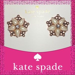 Take 37% Off Kate Spade Chantilly Charm Earrings
